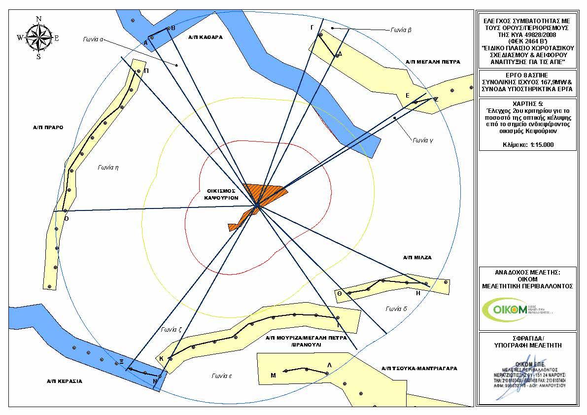 Καψούρι - Χάρτης ΑΠΕ