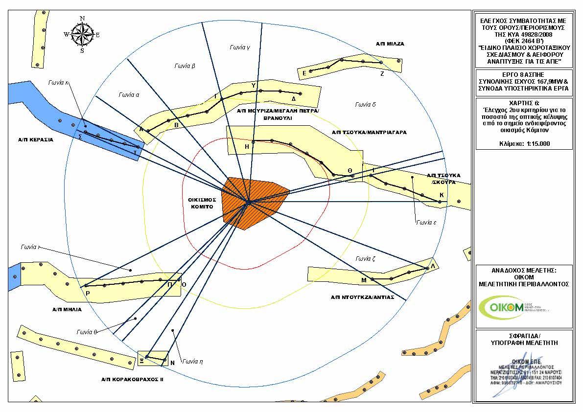 Κόμιτο - Χάρτης ΑΠΕ