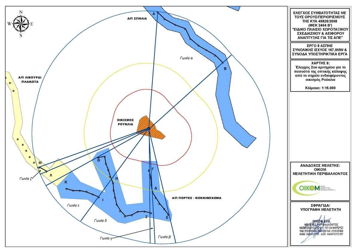 Ρούκλια - Χάρτης ΑΠΕ