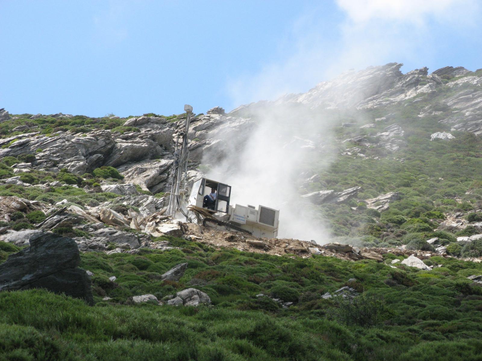 Η κατεδάφιση του βουνού.
