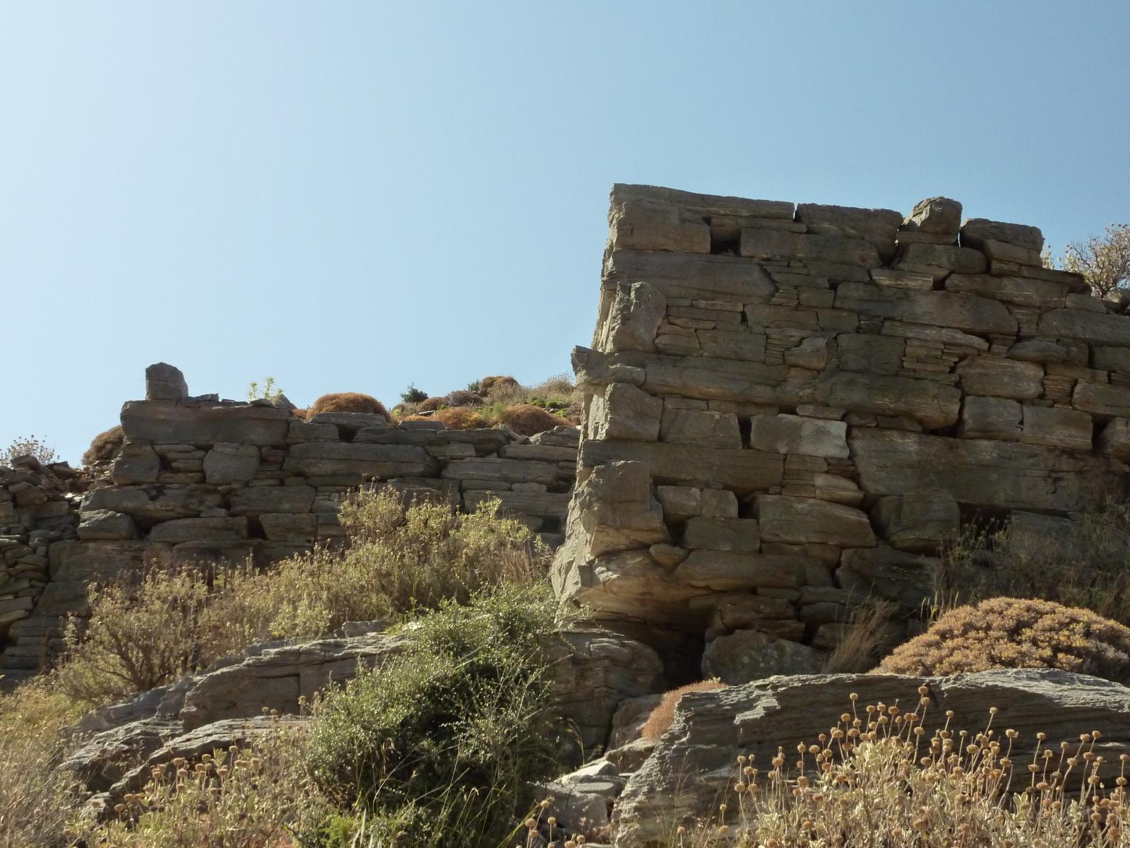 Ancient wall in Archampoli